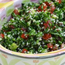 Tabbouleh makes me shake-shake my bootie