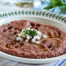 Kibbeh Nayeh, the raw truth