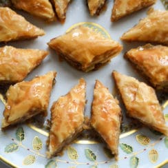 Lebanese Baklawa diamonds, Maureen Abood