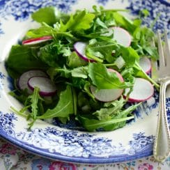 Radish and Arugula Salad, MaureenAbood.com
