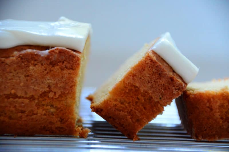Iced Brown Butter Pound Cake, dreamy good