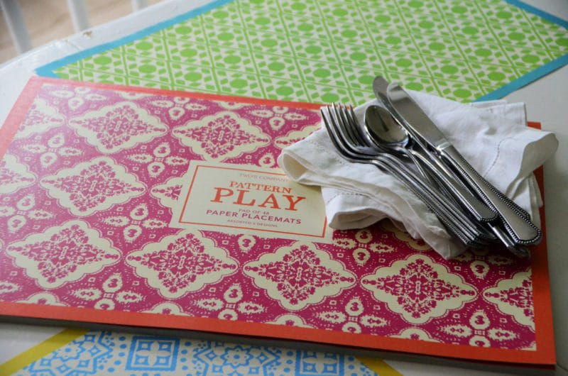cake paper placemats