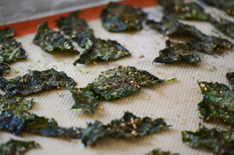 Kale chips with zaatar 2, Maureen Abood