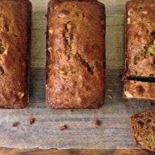 Date Nut Bread Recipe, and learning to fly solo