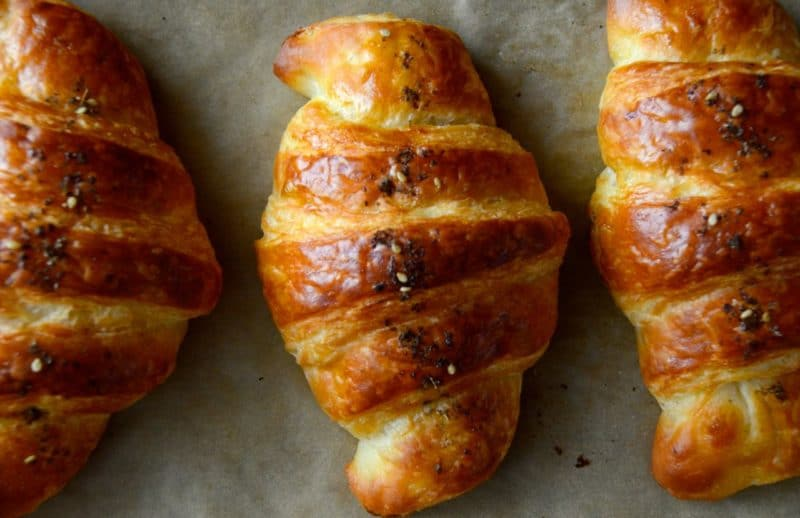 Za Atar Croissant Recipe A Worthy Project Rose Water