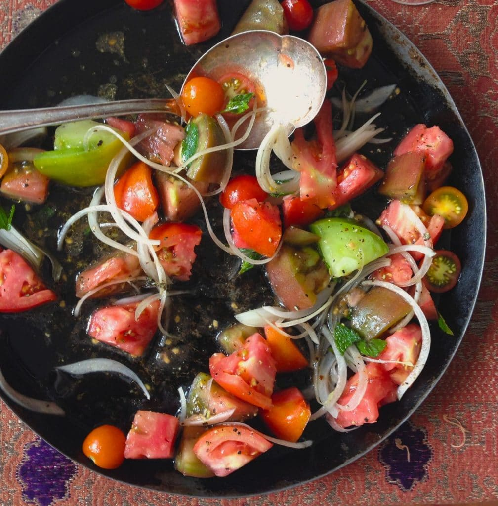 Tomato salad, Maureen Abood