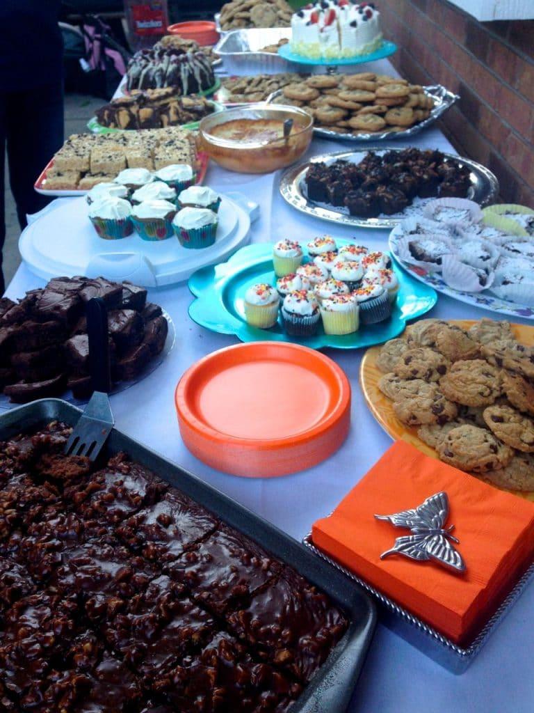 Dessert table, Maureen Abood