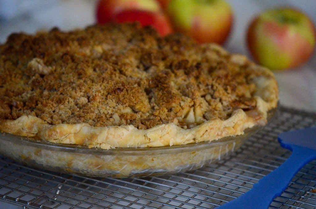 Dutch apple crust, Maureen Abood
