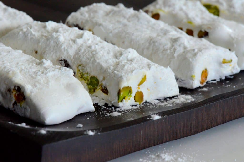 Nougat with Pistachio Cherry, Maureen Abood