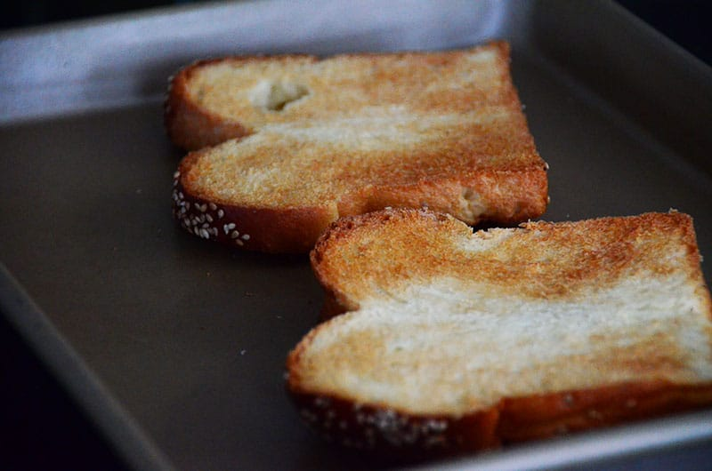 Challah toast, Maureen Abood