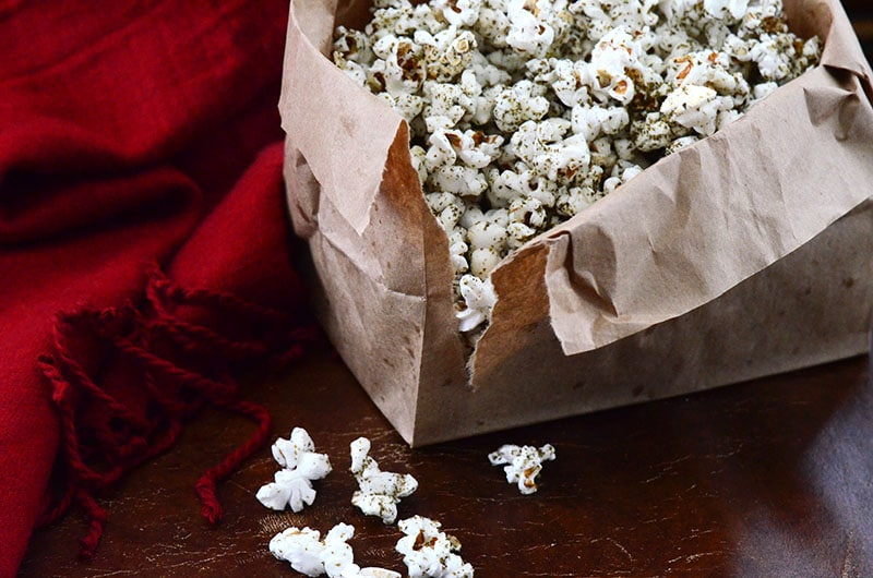 Zaatar popcorn with blanket, Maureen Abood copy