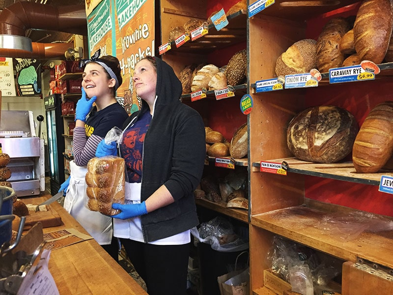 Zingermans bread, Maureen Abood