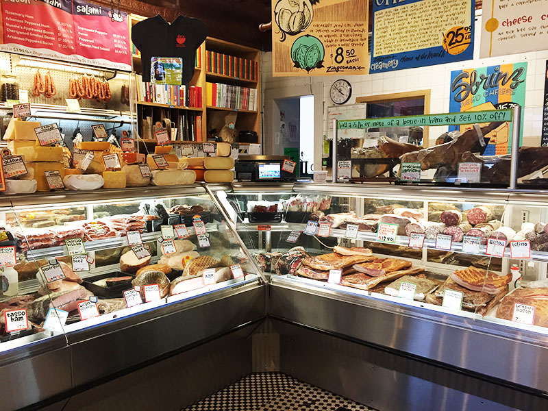 Zingermans meat counter, Maureen Abood