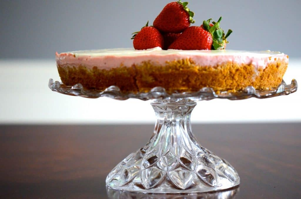 Strawberry Rose cheesecake, Maureen Abood