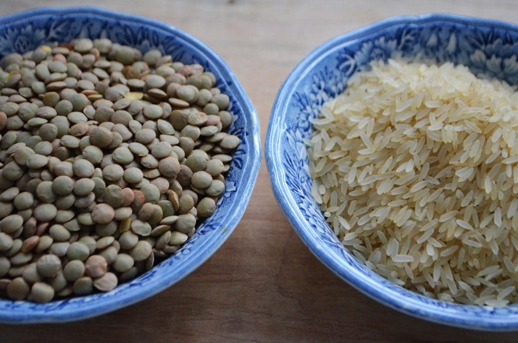 Lentils and rice dry POST
