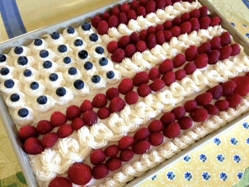 Flag cake 2, Maureen Abood