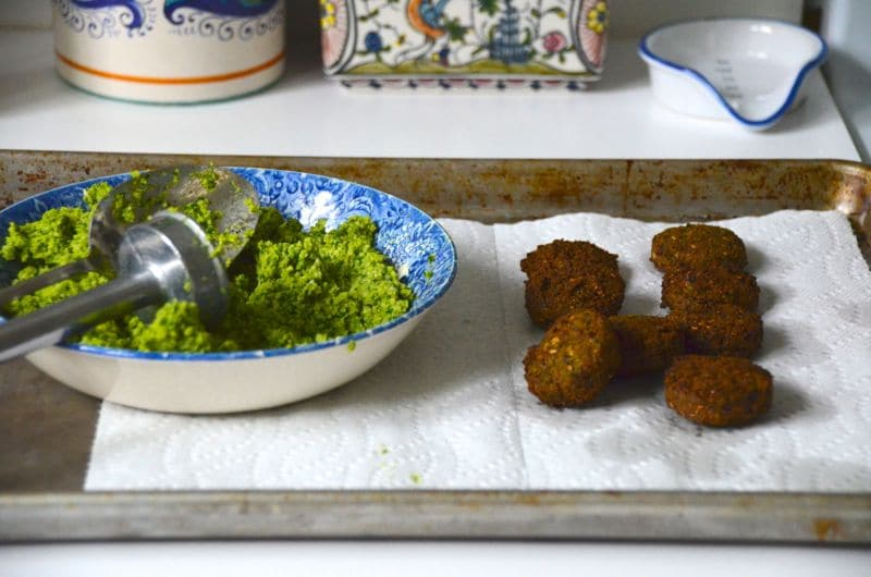 Fried Falafel, Maureen Abood