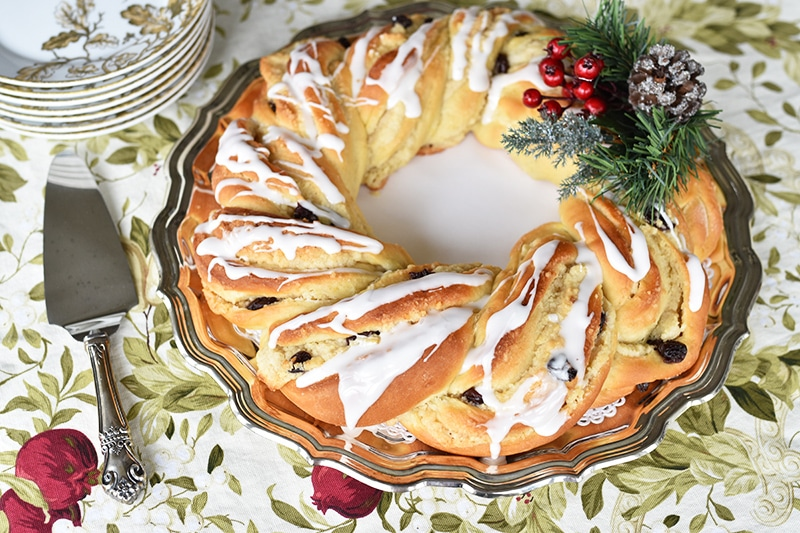Christmas Breakfast Wreath, Maureen Abood