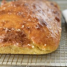 Garlic Butter Glazed Talami Bread