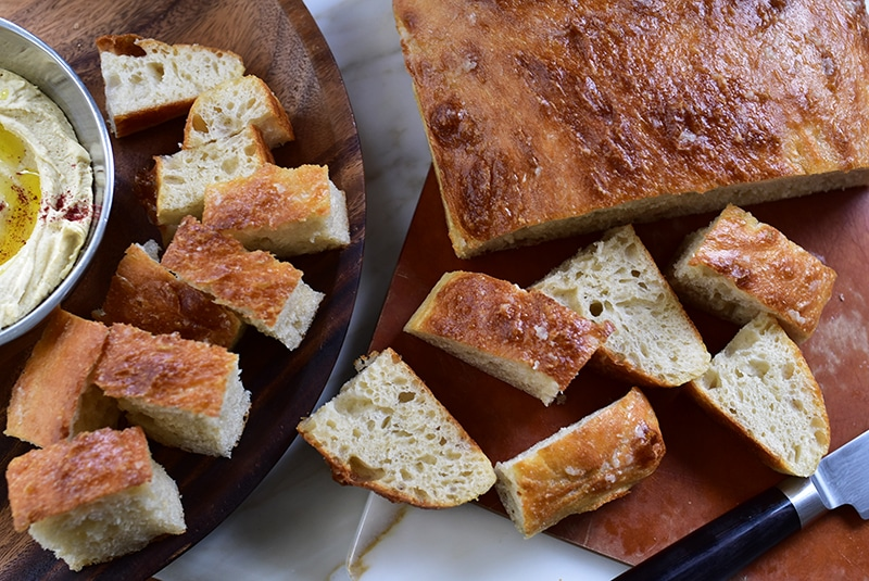 Lebanese talami bread, Maureen Abood