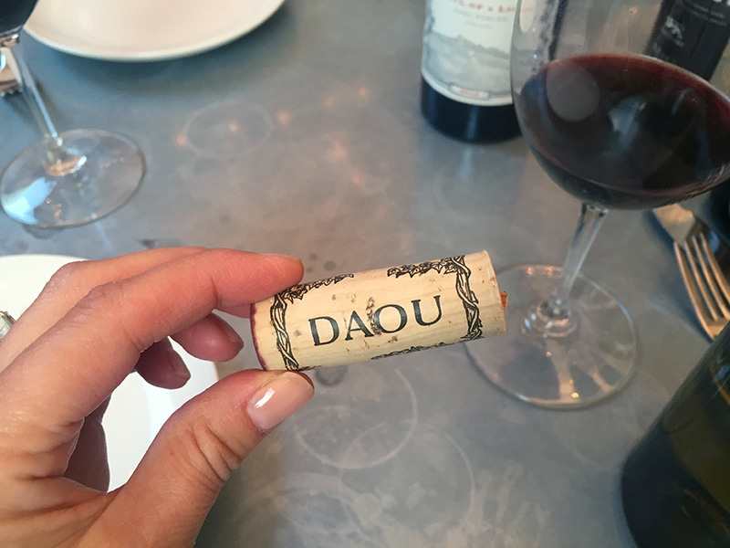 DAOU cork, Maureen Abood