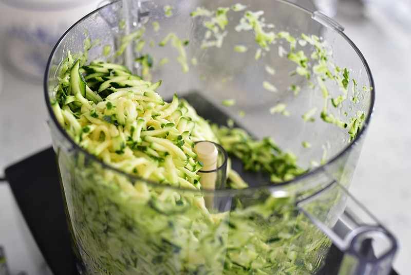 Grated Zucchini, Maureen Abood