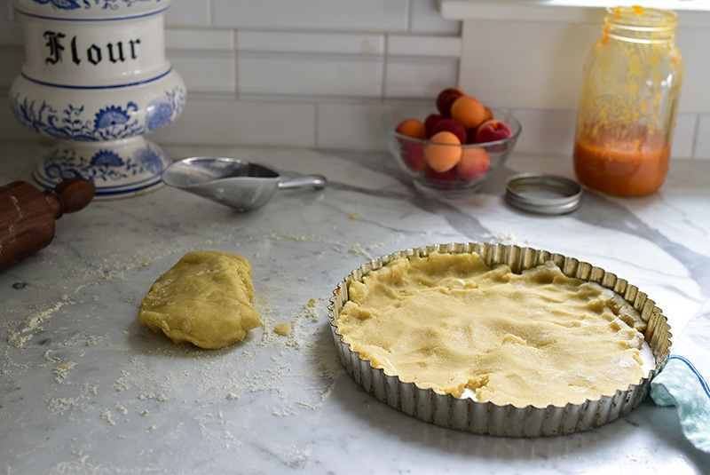 Push-in crust for Jam Tart, Maureen Abood