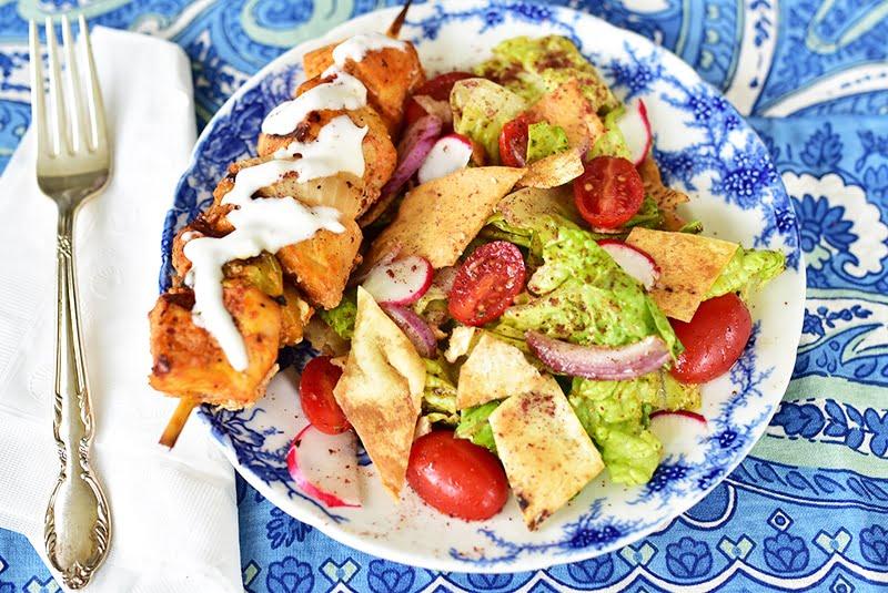fattoush-with-pita-chips-maureen-abood