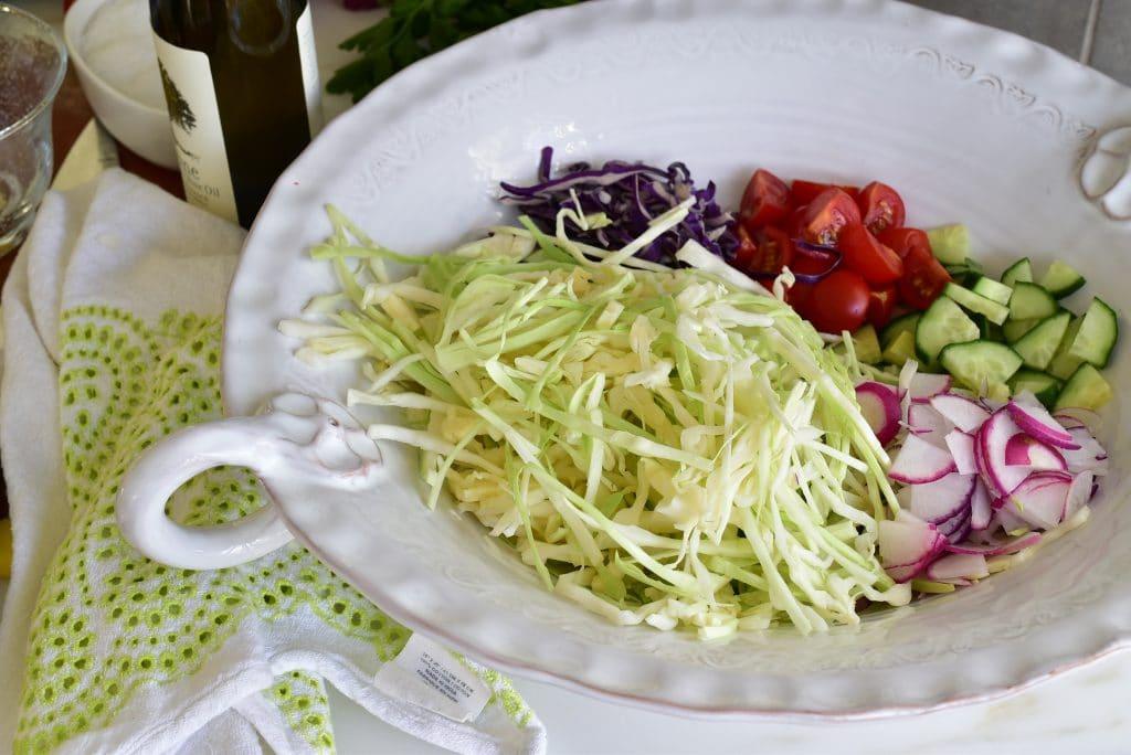 Malfouf Salad, MaureenAbood.com