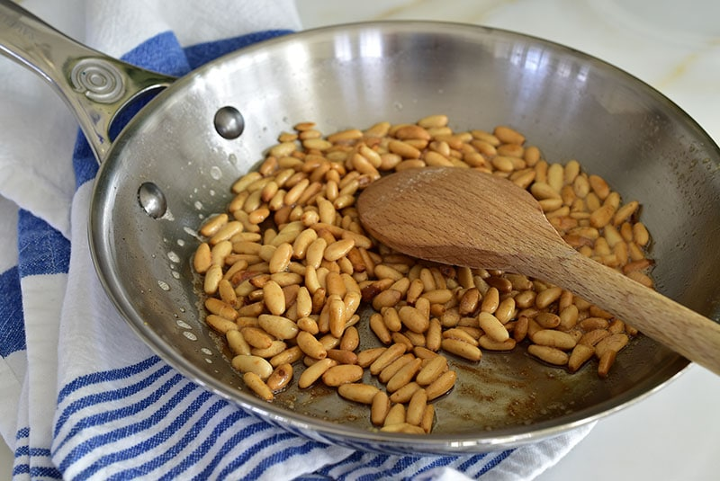 Toasted Pine Nuts, MaureenAbood.com