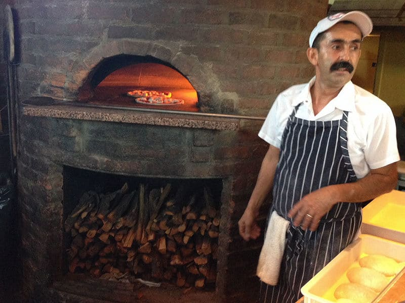 Pizza oven at PIzzeria Bianco in Phoenix, Maureen Abood