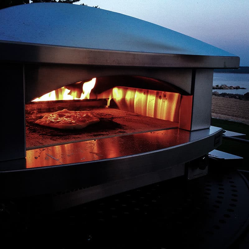 Kalamazoo pizza oven, Maureen Abood