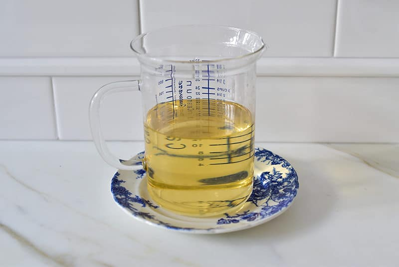 Simple Syrup in a measuring cup, Maureen Abood