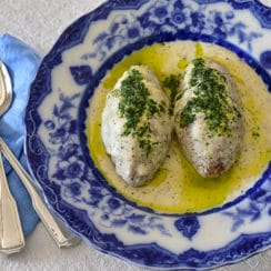 Lebanese Kibbeh in Yogurt Sauce, Maureen Abood.com