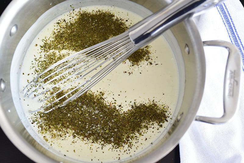 Yogurt sauce with mint, MaureenAbood.com