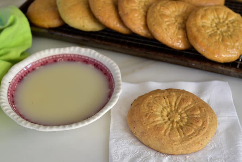 Lebanese ka'ik with rose water glaze, Maureen Abood