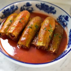 Vegetarian Stuffed Koosa