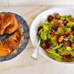 Roasted Chicken Fattoush