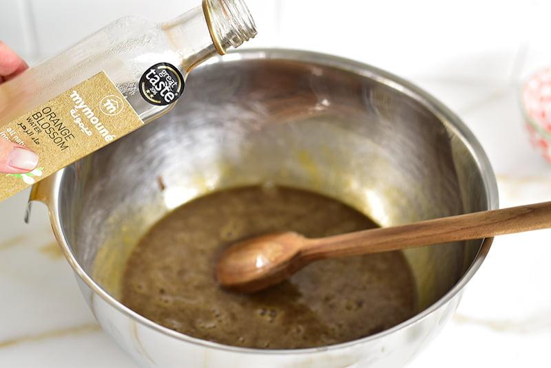 Orange Blossom Water for Pecan Pie filling