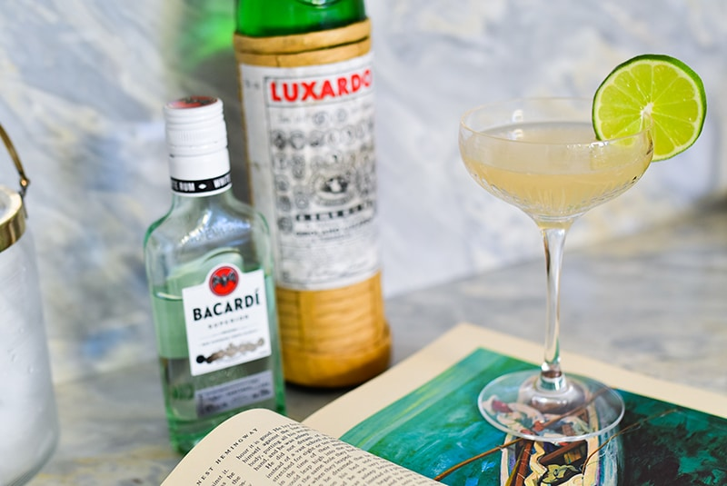 Hemingway Daiquiri with Luxardo and rum